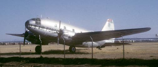 C-46D, 44-77635 at Davis-Monthan AFB on January 16, 1971