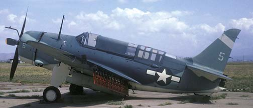 Curtiss SB2C Helldiver NX92879, Chino, California, April 1971