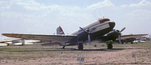 Army C-47 MASDC, Davis-Monthan Air Force Base, February 11, 1972