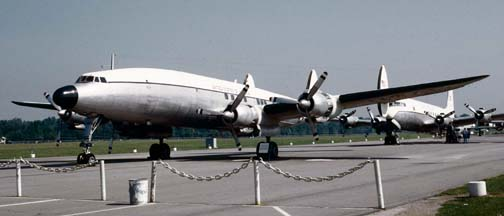 VC-121E, 53-7885 Columbine III at the Air Force Museum on August 19, 1972