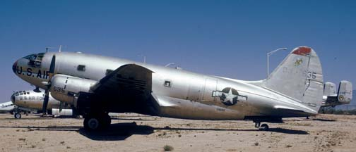 C-46D, 44-77635 at the Pima County Air Museum on March 31, 1974