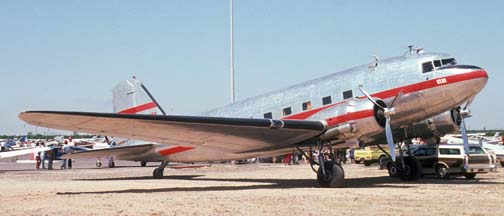 Bede Corporation DC-3, Falcon Field, May 4, 1974