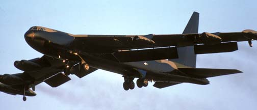 Boeing B-52 Stratofortresses of the sixties and seventies