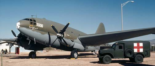 C-46D, 44-77635 at the Pima County Air Museum on December 18, 1979