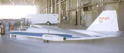 AD-1 Oblique Wing Demonstrator, N805NA