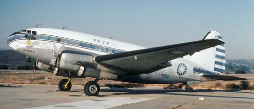 C-46F, N53594 at Camarillo on October 16, 1982