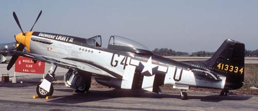 North American P-51D Mustang NL5441V at Pt. Mugu NWC on October 16, 1982