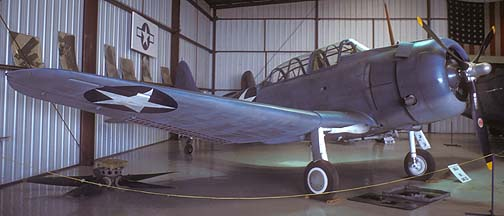 Douglas SBD-5 Dauntless, NX670AM October 18, 1987