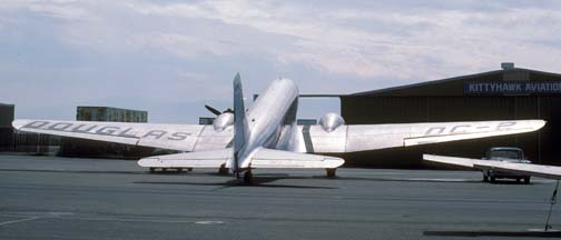 DC-2 NC1934D, Chino Airport, October 18, 1987