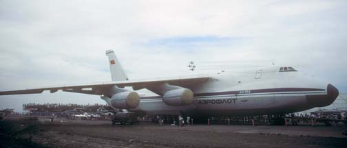 An-124, CCCP82007 at Brown Field near San Diego, May 22, 1988
