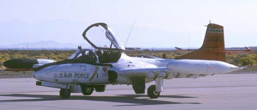 Cessna NOA-37B Dragonfly, 73-1090 of the 412th Test Wing at Edwards Air Force Base on October 23, 1988