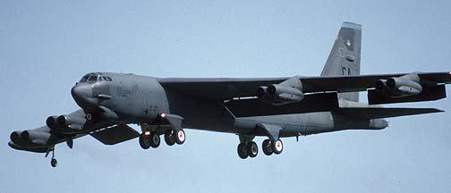 Boeing B-52 Stratofortress of the nineties