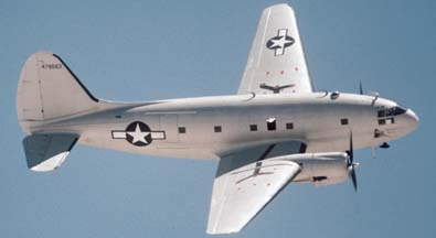 C-46F, N53594 at Nellis AFB on April 25, 1997