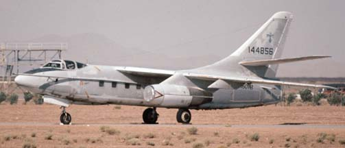 Douglas TA-3B Skywarrior, N870RS stored at Mojave on July 27, 1997