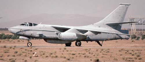 Douglas TA-3B Skywarrior, N162TB stored at Mojave on July 27, 1997