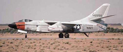 Douglas NRA-3B Skywarrior, N256HA stored at Mojave on July 27, 1997