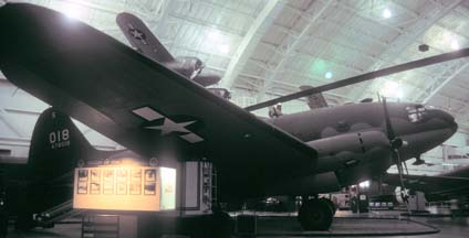 C-46D, 44-78018 at the US Air Force Museum on August 17, 1998