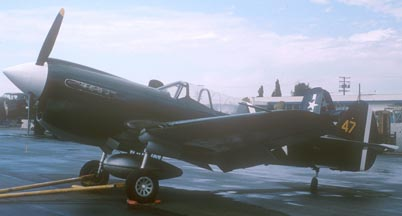 Curtiss P-40N Warhawk NL85104, Chino, October 18, 1987