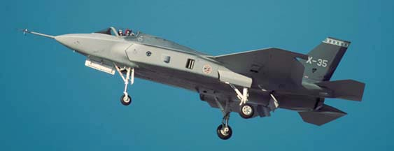 Lockheed-Martin X-35 Joint Strike Fighter at Palmdale