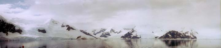 Andvord Bay panorama