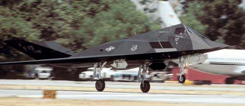 Lockheed-Martin F-117A Nighthawk, 80-786 of the 9th Fighter Squadron at Holloman AFB, New Mexico