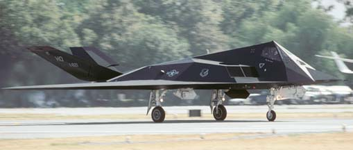 Lockheed-Martin F-117A Nighthawk, 86-821 of the 49th Fighter Wing at Hollomon AFB