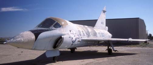 Convair TF-102A Delta Dagger, 54-1353 at Fox Field, August 15, 2001