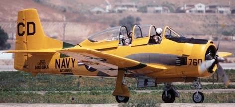 Trainers at the 2001 Camarillo EAA Fly-in