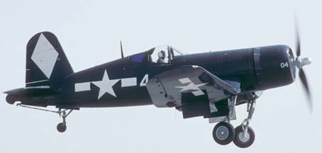Vought F4U-1 Corsair NX83782, Chino, October 6, 2001