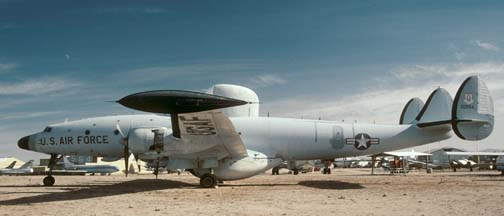 EC-121T, 53-0554 at the Pima Air Museum on November 23, 2001