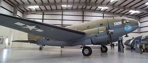 C-46D, 44-77635 at the Pima County Air Museum on November 23, 2001