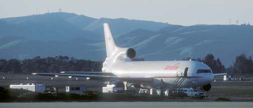 Orbital Sciences Corp. L-1011, Stargazer is prepared for departure