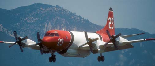 Tankers at the Santa Barbara Airport, May 12, 2002