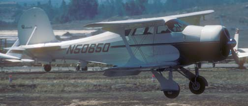 Beechcraft Staggerwing, N50650