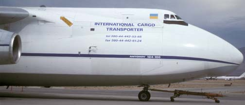 Antonov Design Bureau An-124, UR-82072 at Mojave, September 5, 2002