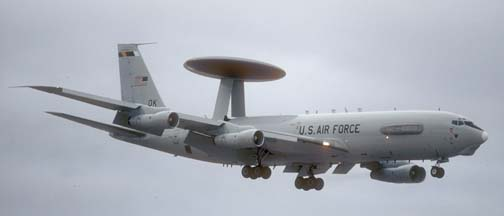 U. S. Air Force bombers, tankers, transports, and early warning airplanes