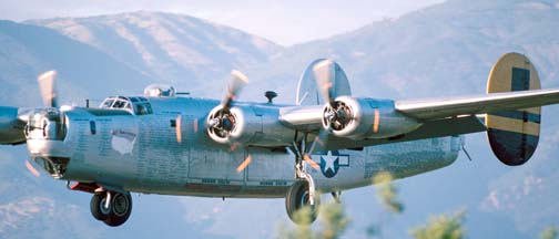 Collings Foundation Bombers at the Santa Barbara Airport from April 30 to May 2, 2003