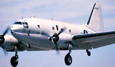 Curtiss C-46 Commando, China Doll at Hawthorne on August 15, 2003