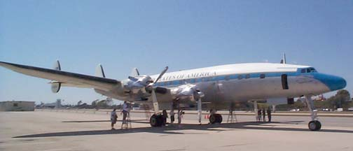 Lockheed C-121C Constellation, Camarillo Connie