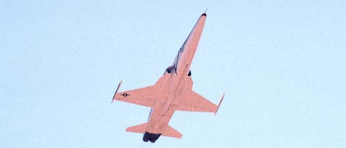 F-5 Shaped Sonic Boom Demonstrator takes off