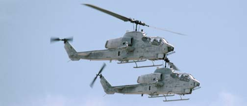 Bell AH-1W Super Cobras #24 and #29