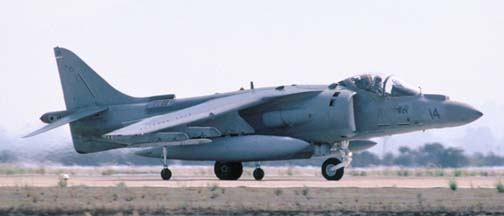 McDonnell-Douglas AV-8B Harrier #14 of VMA-214 based at Yuma MCAS, AZ