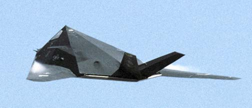 Lockheed-Martin F-117A Stealth Fighter, 85-0829 of the 8FS based at Holloman AFB.