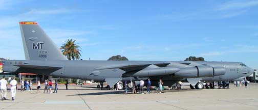 Boeing B-52H Stratofortress, 60-0005 of the 5th Bomb Wing