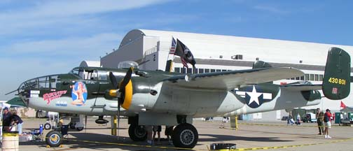 North American B-25J Mitchell, N30801 Executive Sweet