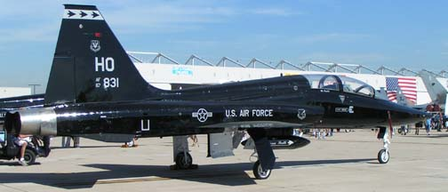 Northrop T-38A Talon, 65-10376 of the 7th CTS