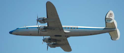 Lockheed C-121C Super Constellation, N73544