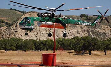 Air Tankers fight 