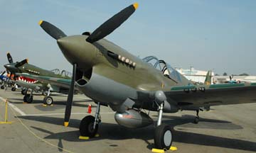 Curtiss P-40N Warhawk, N1195N