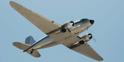 Dream Flight's DC-3, N101KC Rose